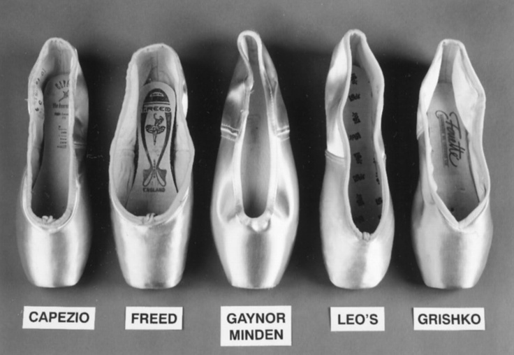 pointe shoes by Freed of London