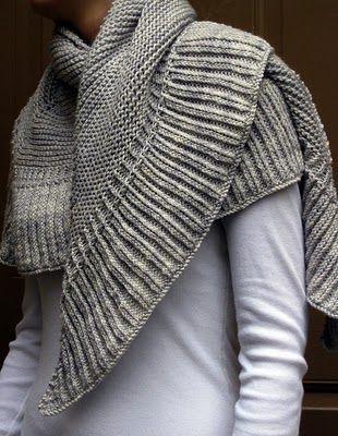 mara shawl from madeline tosh - free pattern.