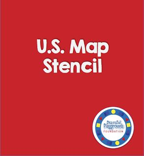 144 best US Map Stencil images on Pinterest Playgrounds Maps