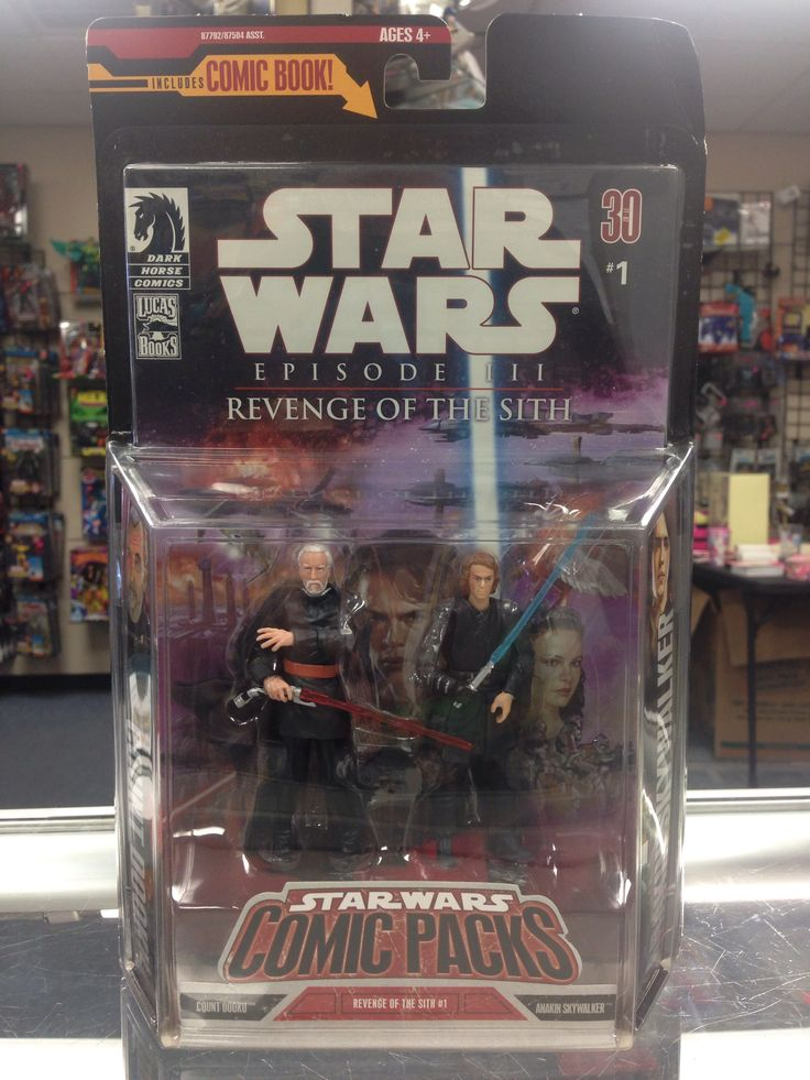 Hasbro Star Wars Comic Packs Count Dooku & Anakin Skywalker