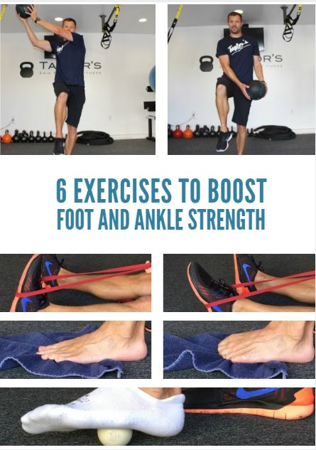 Our feet carry our full bodyweight step after step, mash the pedals when asked and help drive our body through the water. While we often focus on larger muscle groups when training, your feet and ankles may require specific attention. 6 Exercises to Boost
