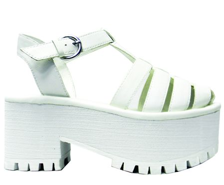 Chariot II- White: http://shop.nylonmag.com/collections/whats-new/products/chariot-ii-white #NYLONshop