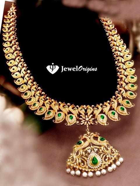jewelorigins.com-Indian Designer Gold and Diamond Jewellery,Indian Bridal Jewellery: GRT Jewelers.