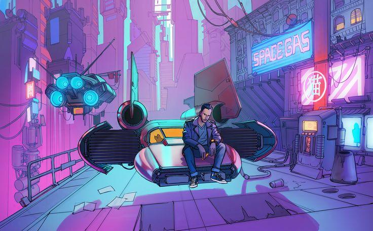 ArtStation - CYBOR-PUNK!, Eric Geusz