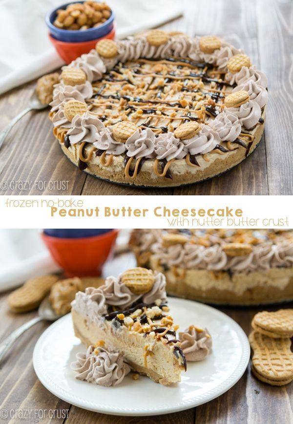 Frozen Peanut, Baking Peanut, Butter Cheesecake, No Bak Frozen, Nutter ...