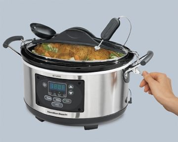 Set & Forget® 6 Qt. Programmable Slow Cooker with Timer | Slow Cooker | Hamilton Beach