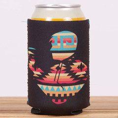 Drink Like a Champion Today Beer Sleeve - Aqua | Rowdy Gentleman