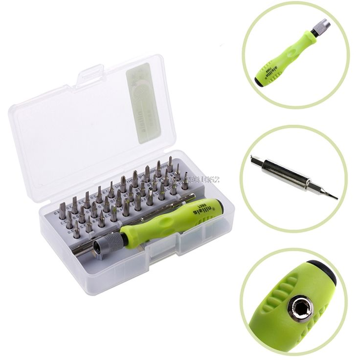 32 in1 Torx Precision Screwdriver Set Fr Mobile Phone Laptop PC Repair Tool Kit -B119