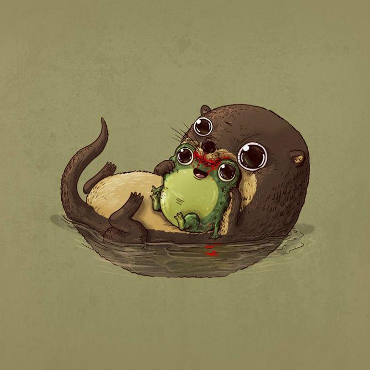 La adorable cruda realidad del mundo animal9