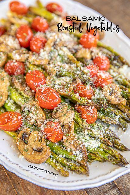 Balsamic Roasted Vegetables | Plain Chicken®