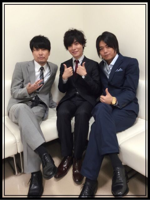 Program called Kiramune Company Studio viewing There is also a one-hour program I was allowed to do it the MC  And Yotchin Paisen of partner units  And guest Okamoto-kun! Posted on Namidai's blog (Oct 2015)