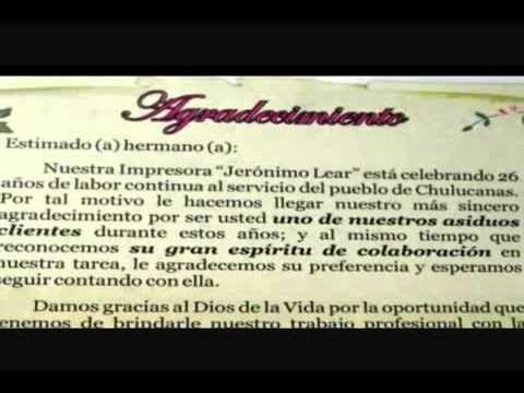 Imprenta Madres Redentoristas Chulucanas