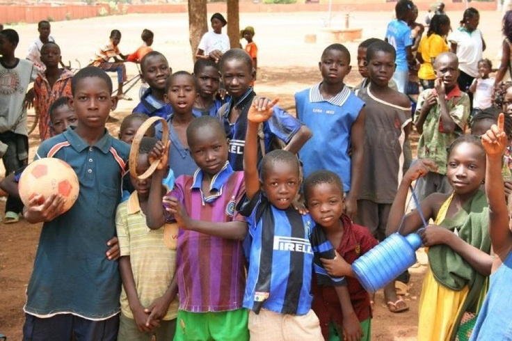 Burkina Faso boys, taken by US teenager on a mission with realimpact.com