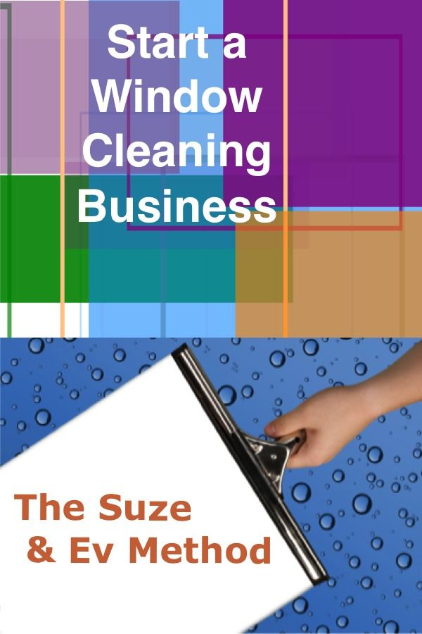 Learn how to start a window cleaning business with this business start-up system. 20 year veterans of the cleaning industry Suze & Ev teach you how to start and run your own window cleaning service.