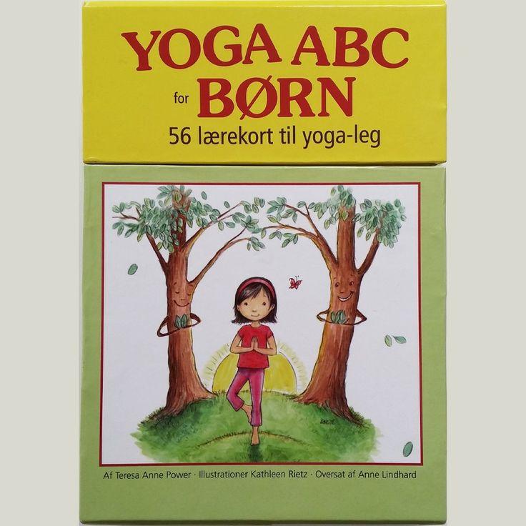 56 lærekort til Yoga-leg. På Dansk