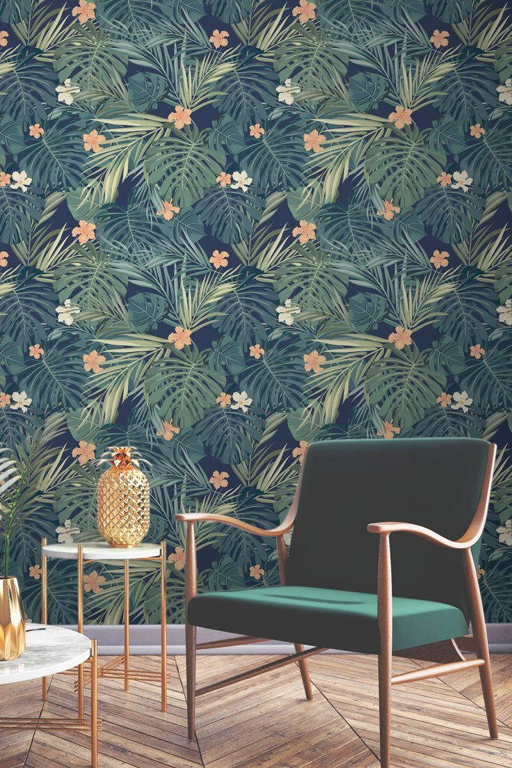 tropical-wallpaper-675x1013 14 Hottest Interior Designers Trends in 2017