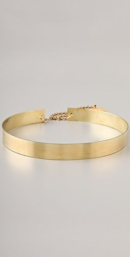 Gold metal belt- I want this!