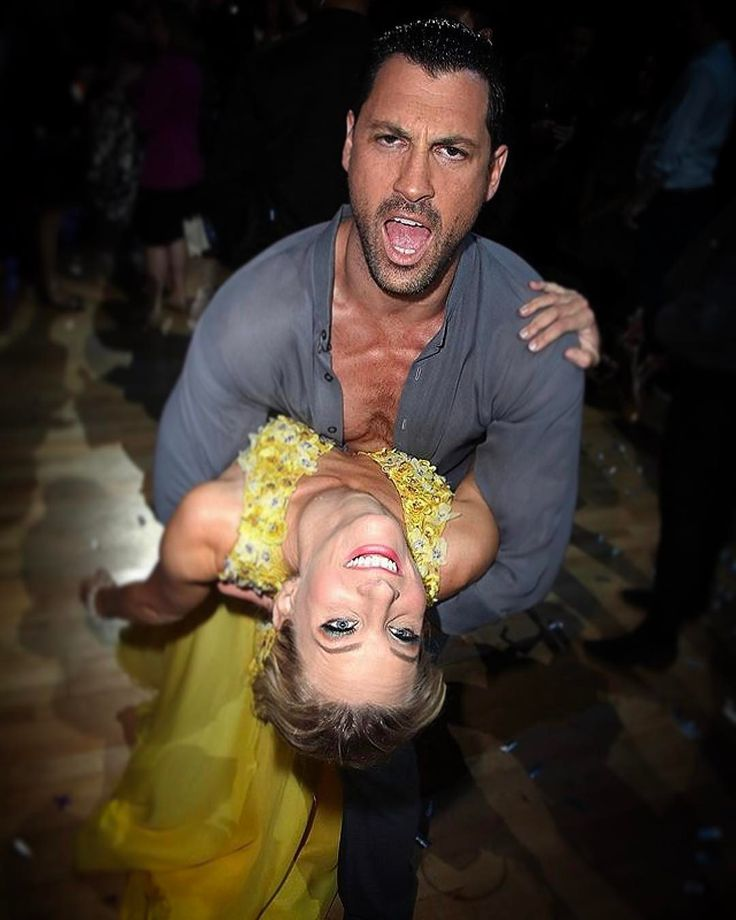 Maksim Chmerkovskiy and Heather Morris - Dancing with the Stars partners Heather Morris and Maksim Chmerkovskiy