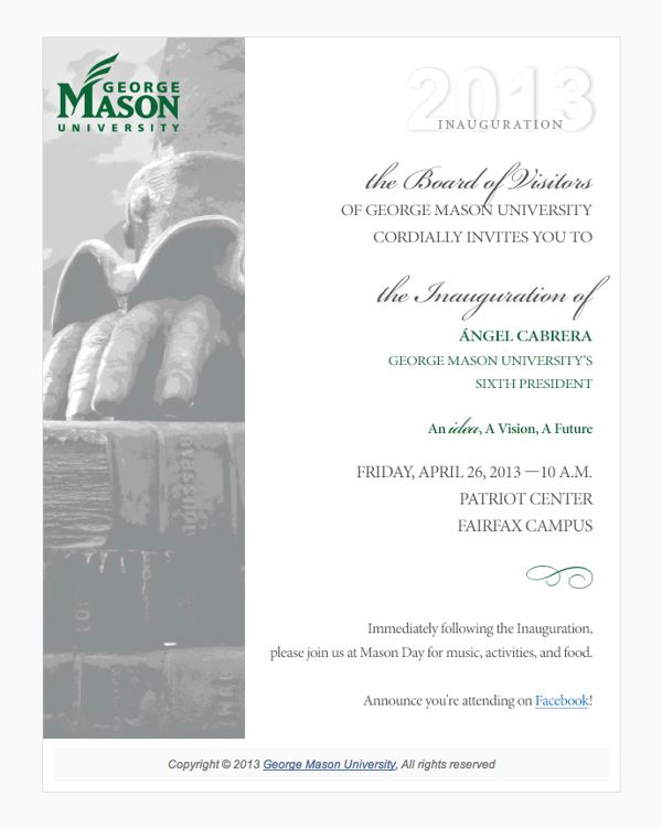 college president inauguration invitation - Google Search Higher - best of invitation samples for inauguration