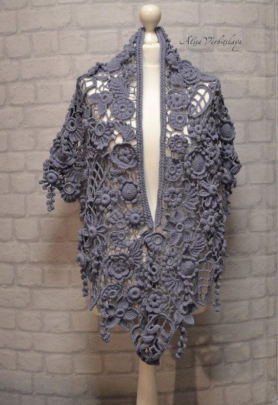 Shawl Shroud Stoles Scarf Shawl Irish Crochet