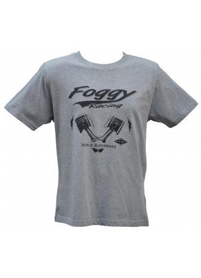Carl Fogarty Oily Rag Motorcycle Racing T-Shirt Official Foggy range Size M
