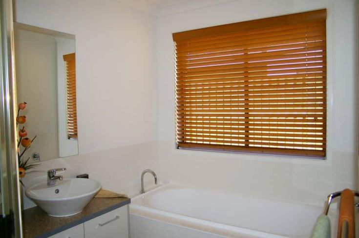 Appropriate And Stylish Bathroom Window Treatments