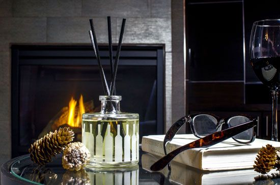 Candles and diffusers...Le Vin by Olavie