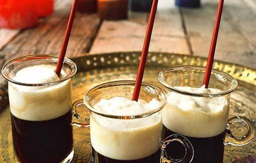 Irish coffee lämmittää kylmempinä päivinä.