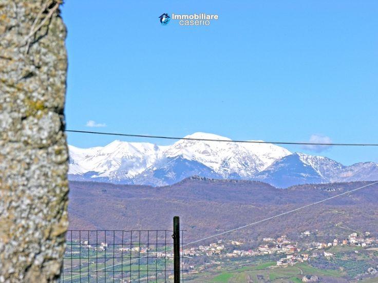 #mountain #snow #view #Abruzzo #Italy #hills