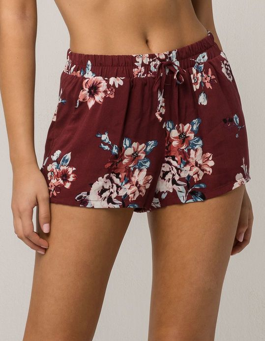 1fa37fc6d5a86 SKY AND SPARROW Floral Womens Shorts | Clothes | Floral shorts ...