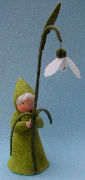 Atelier Pippilotta :: Bloemenkinderen Lente Pakketten :: Sneeuwklokje