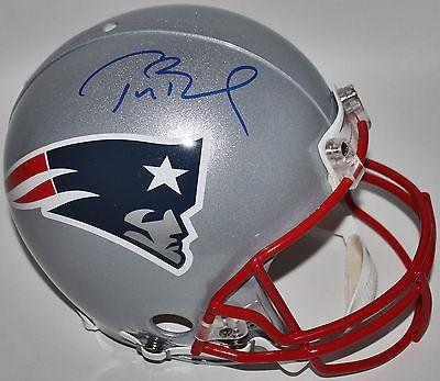 Tom Brady Autographed Helmet - Proline Full Size Holo