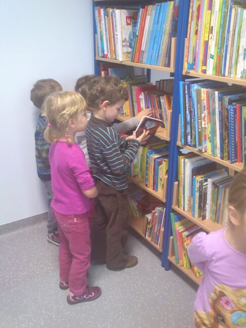 Najmłodsi czytelnicy