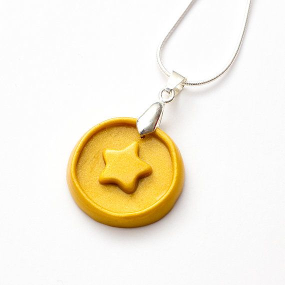 Animal Crossing New Leaf Bell Coin necklace by FrozenCrafts
