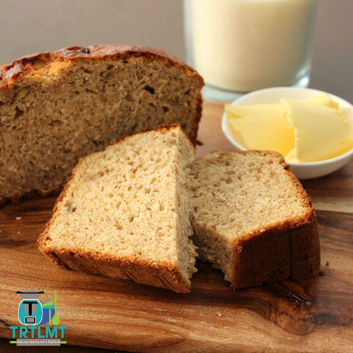 Join us  I am often asked for a banana bread recipe made of wholemeal flour. Up until recently I didn't have one