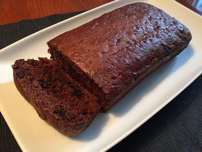 Gâteau au yogourt et au chocolat noir