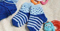 Детские носки спицами с рисунком (узором), для начинающих- фото и схема | Уход за новорожденным