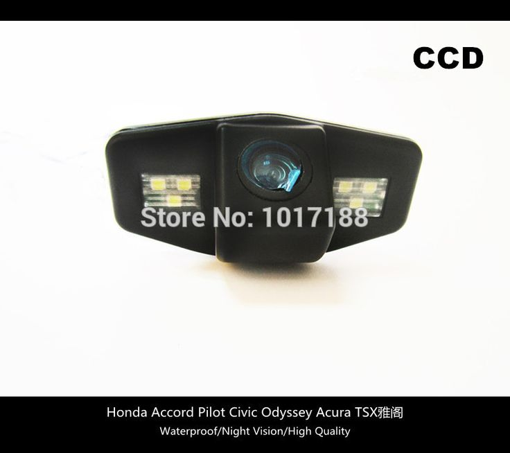 HD!! Car Rear View Parking CCD Camera For Honda Accord Pilot Civic Odyssey Acura TSX