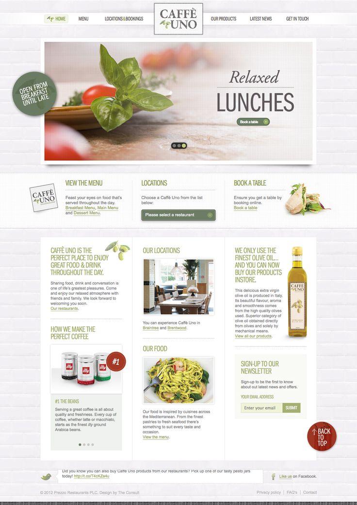 Simple, Webdesign, Food, Drink