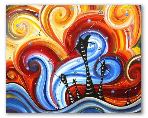 Mejores 14 im genes de pinturas modernas en pinterest for Color de pintura al aire libre casa moderna
