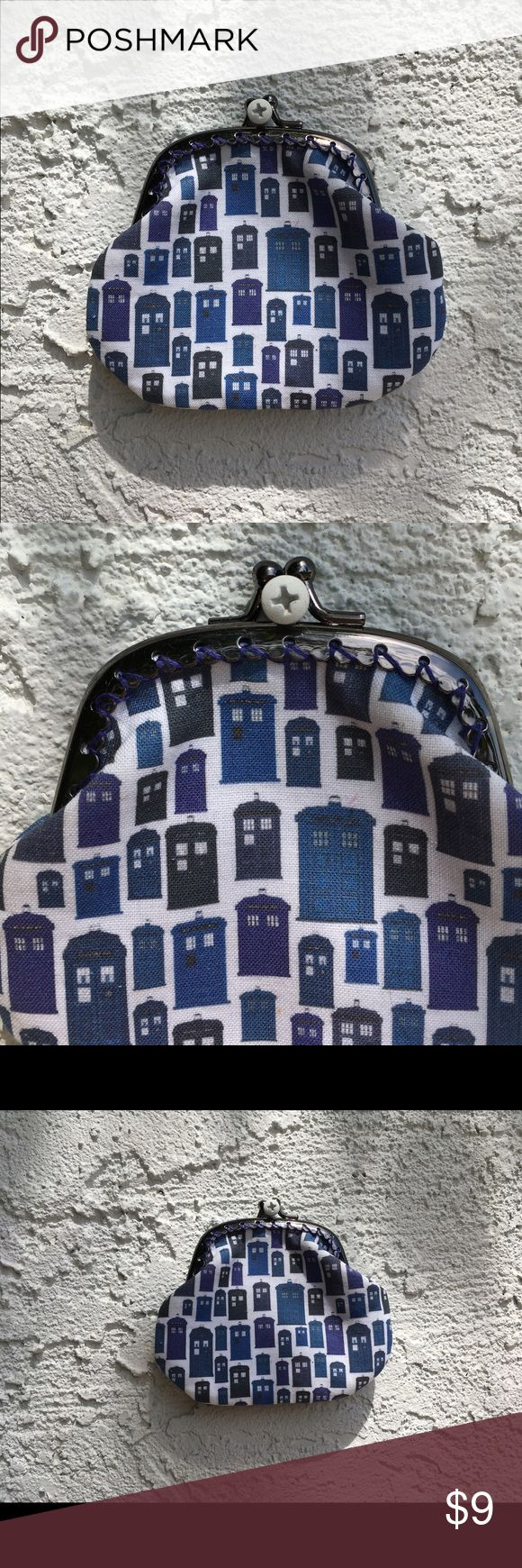 Doctor Who Coin Purse Selling this coin purse for all Doctor Who lovers! Small, cute, awesome material. 💙 Doctor Who Other