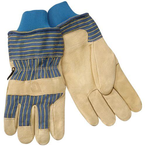 Steiner P2459-L Heatloc Grain Pigskin Winter Insulated Gloves, Large