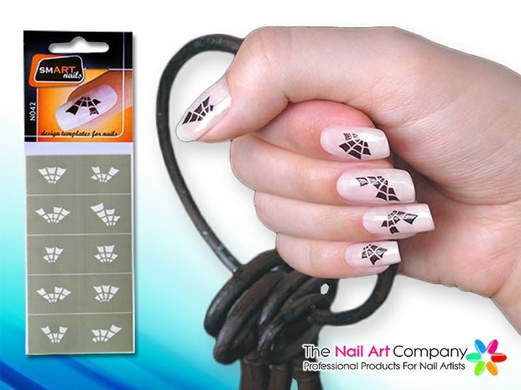 67 best smart nails nail art stencils images on pinterest nail smart nails spiders web nail art stencil set n042 prinsesfo Images