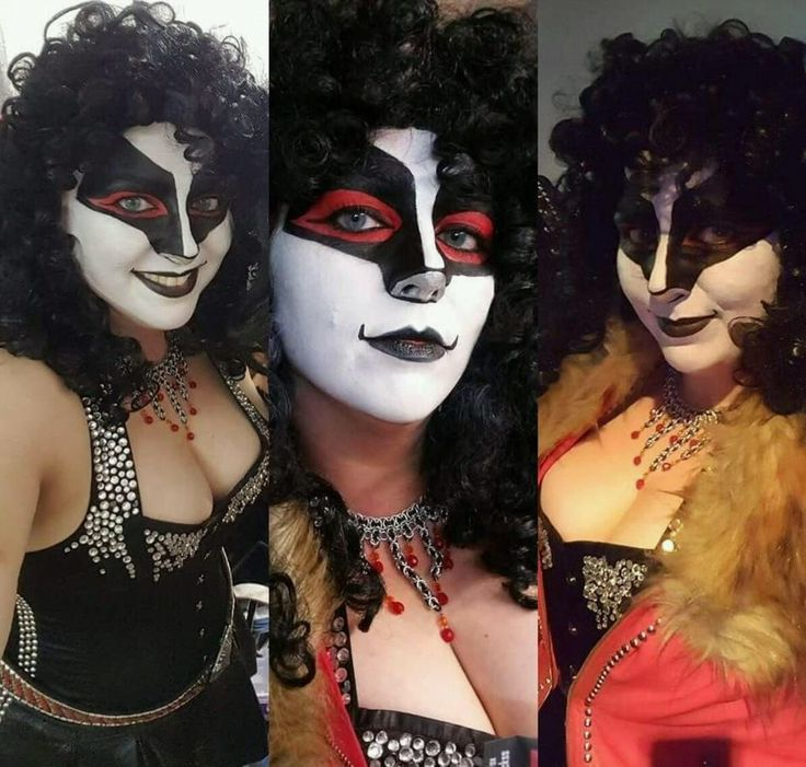 Kiss And Makeup Day: 1427 Best Girls In KISS Makeup Images On Pinterest