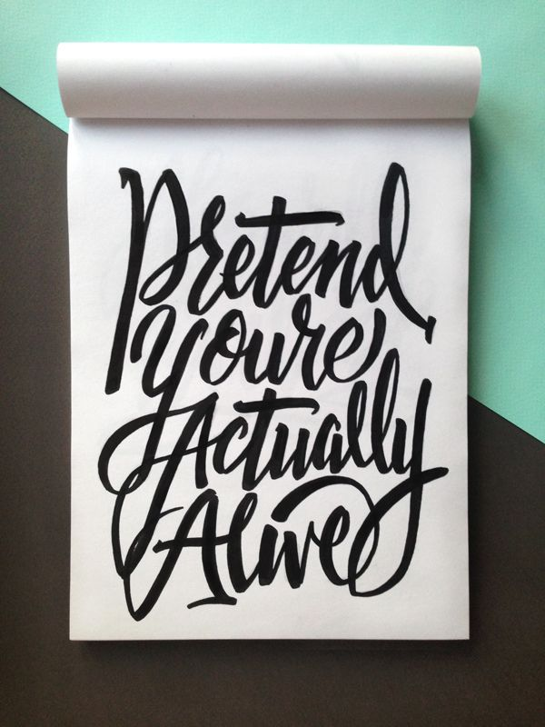 Letters of Resignation by Stephanie Toole, via Behance