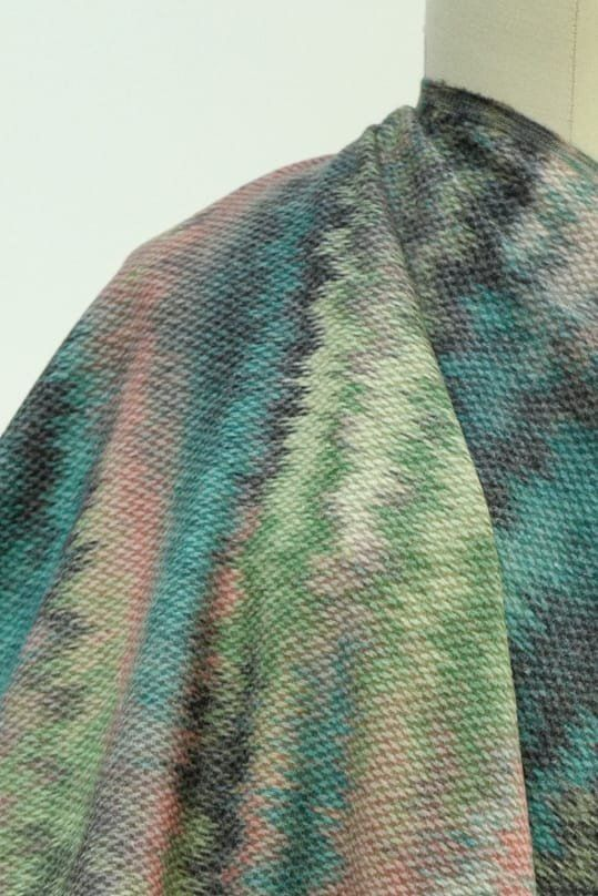 Northern Lights French Wool Coating Woven