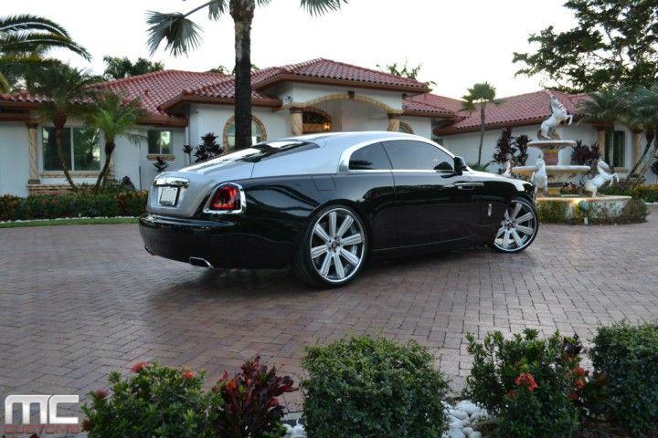 Rolls-Royce Wraith On Vellano Wheels - Rides Magazine