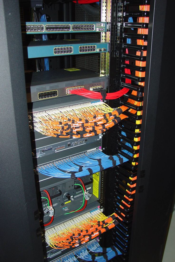You could cable a rack like this.... or do what my customers do and tie it all in knots under the raised floor.