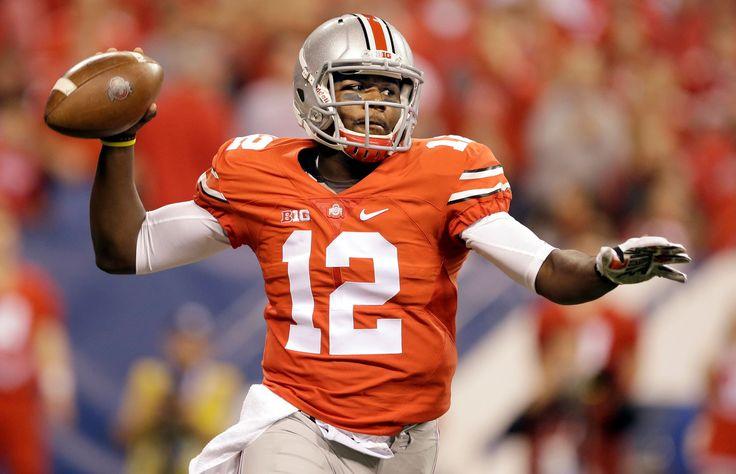 Ohio State quarterback Cardale Jones throws - Darron Cummings/AP Photo