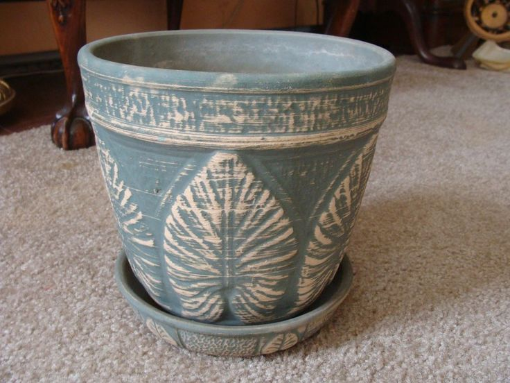 Here's a classic looking old Red Wing stoneware crock flower pot that. | eBay!